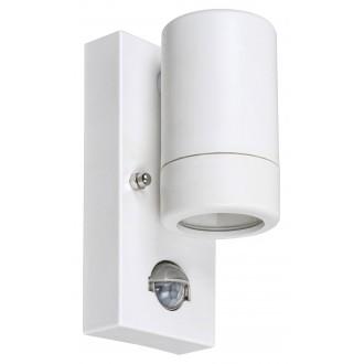 RABALUX 8838 | Medina-RA Rabalux zidna svjetiljka sa senzorom 1x GU10 IP44 UV bijelo mat