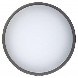 RABALUX 8848 | Hamburg_RA Rabalux zidna, stropne svjetiljke svjetiljka 1x LED 900lm 4000K IP44 UV antracit, bijelo