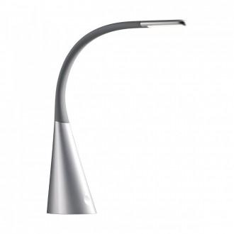 REDO 01-1038 | Alias Redo stolna svjetiljka 52cm s prekidačem USB utikač 1x LED 330lm 3000K crno, srebrno