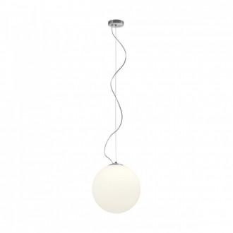 REDO 01-1065 | Ola-RD Redo visilice svjetiljka 1x E27 poniklano mat, opal