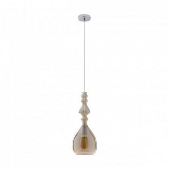 REDO 01-1082 | Ambix Redo visilice svjetiljka 1x E27 šampanjac žuto, krom