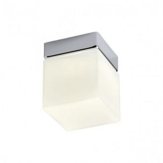 REDO 01-1133 | Drip Redo zidna, stropne svjetiljke svjetiljka 1x LED 450lm 3000K IP44 krom, opal