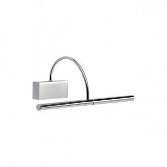 REDO 01-1135 | Kendo-RD Redo zidna svjetiljka elementi koji se mogu okretati 1x LED 495lm 3000K krom, satenski nikal