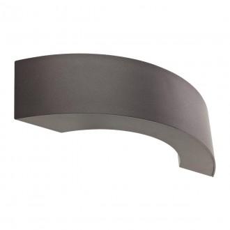 REDO 9903 | Eclipse-RD Redo zidna svjetiljka 3x LED 238lm 2850-3000K IP54 tamno siva, saten