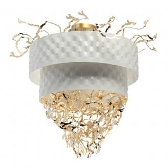 REGENBOGEN 394011316 | Carmen-MW Regenbogen stropne svjetiljke svjetiljka 16x G9 6880lm bijelo, zlatno, kristal