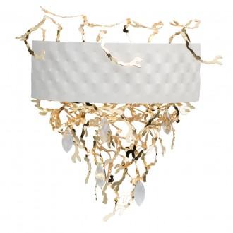 REGENBOGEN 394021705 | Carmen-MW Regenbogen zidna svjetiljka 5x G9 2150lm bijelo, zlatno, kristal