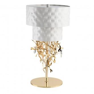 REGENBOGEN 394031506 | Carmen-MW Regenbogen stolna svjetiljka s prekidačem 6x G9 2580lm bijelo, zlatno, kristal