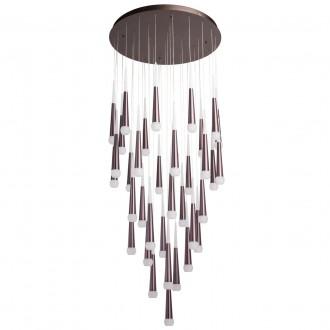 REGENBOGEN 609014036 | Flensburg Regenbogen visilice svjetiljka 1x LED 18400lm 3000K kafena, opal