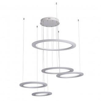 REGENBOGEN 661014305 | Plattling Regenbogen visilice svjetiljka 1x LED 9450lm 4000K bijelo, opal