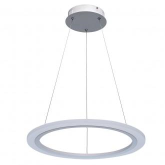 REGENBOGEN 661014601 | Plattling Regenbogen visilice svjetiljka 1x LED 5400lm 3000K bijelo, opal