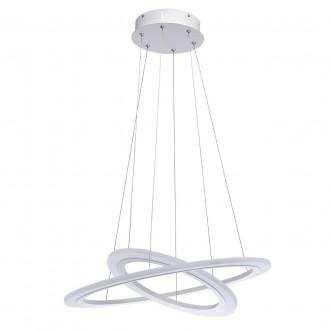 REGENBOGEN 661014802 | Plattling Regenbogen visilice svjetiljka 1x LED 2700lm 3000K bijelo, opal