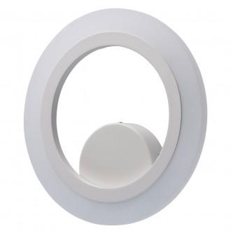 REGENBOGEN 661024401 | Plattling Regenbogen zidna svjetiljka okrugli 1x LED 1350lm 4000K bijelo, opal