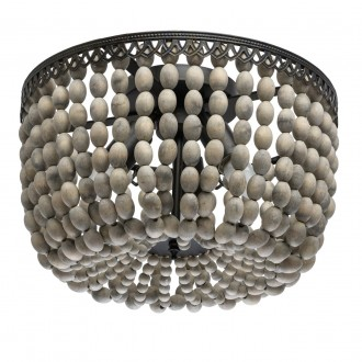 REGENBOGEN 679010803 | Borneo-MW Regenbogen stropne svjetiljke svjetiljka 3x E27 1935lm rdža smeđe, bezbojno