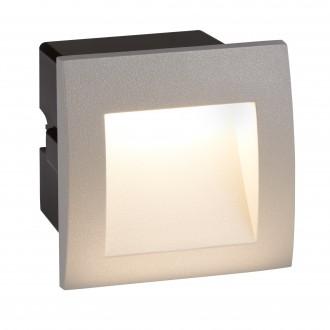 SEARCHLIGHT 0661GY | Ankle Searchlight ugradbena svjetiljka 1x LED 25lm 4000K IP65 sivo, crno, acidni