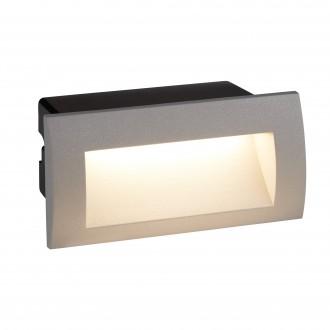 SEARCHLIGHT 0662GY | Ankle Searchlight ugradbena svjetiljka 1x LED 90lm 4000K IP65 sivo, crno, acidni