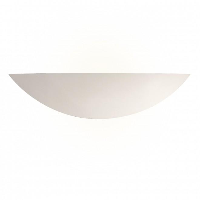SEARCHLIGHT 102 | GypsumS Searchlight zidna svjetiljka sa površinom za bojanje 1x E27 bijelo