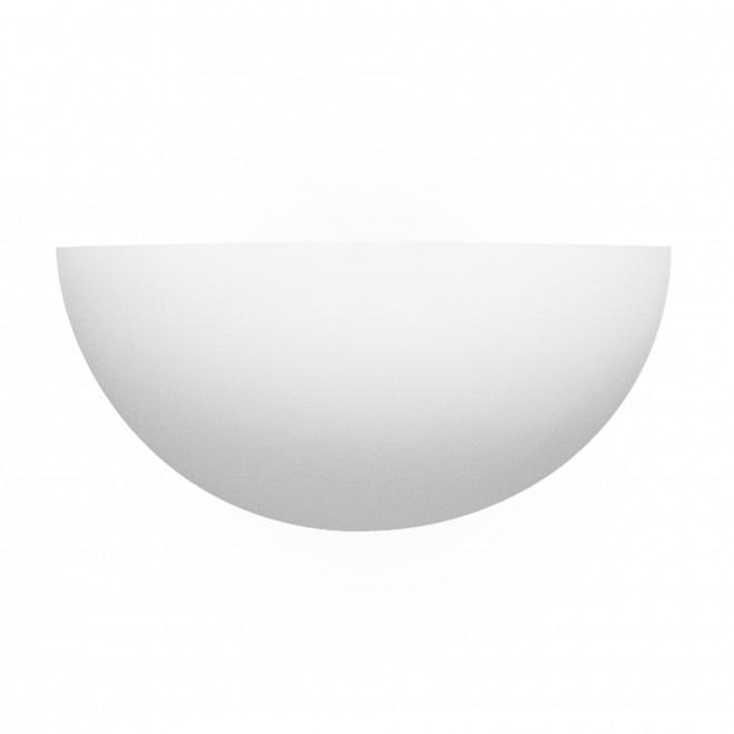 SEARCHLIGHT 106 | GypsumS Searchlight zidna svjetiljka sa površinom za bojanje 1x E27 bijelo