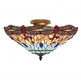 SEARCHLIGHT 1289-16 | Dragonfly Searchlight stropne svjetiljke svjetiljka 3x E14 antik bakar, u bojama