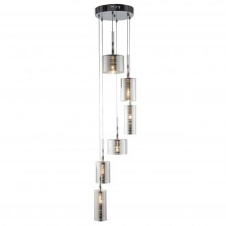 SEARCHLIGHT 1936-6CC | LinenS Searchlight visilice svjetiljka 6x G4 krom, prozirna
