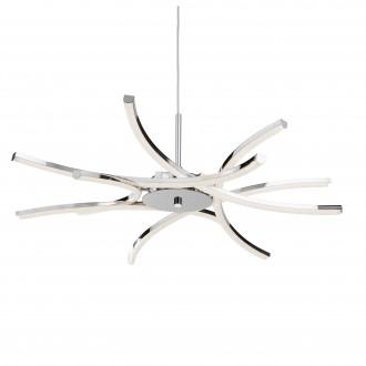 SEARCHLIGHT 3636-6CC | Bardot Searchlight visilice svjetiljka s mogućnošću skraćivanja kabla 1x LED 3000K krom, bijelo