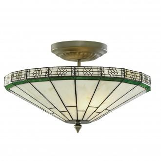 SEARCHLIGHT 4417-17 | New-York Searchlight stropne svjetiljke svjetiljka 2x E14 bronca, jantar
