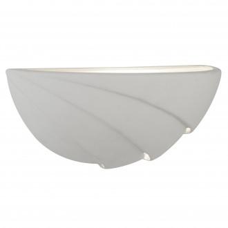 SEARCHLIGHT 4741WH | GypsumS Searchlight zidna svjetiljka sa površinom za bojanje 1x E14 bijelo