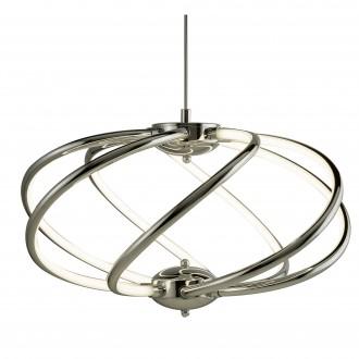 SEARCHLIGHT 6500-7CC | Bardot Searchlight visilice svjetiljka s mogućnošću skraćivanja kabla 1x LED 2550lm 3000K krom, bijelo