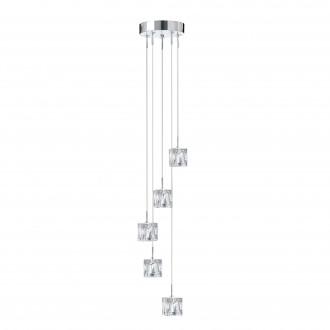 SEARCHLIGHT 6775-5-LED | Ice-Cube Searchlight visilice svjetiljka 5x LED 1250lm 3000K krom, prozirno
