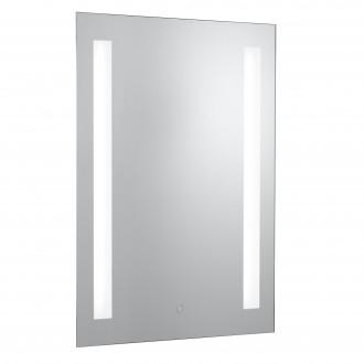SEARCHLIGHT 7450 | MirrorS Searchlight zidna svjetiljka sa dodirnim prekidačem 2x G13 / T8 1450lm 4000K IP44 srebrno, zrcalo