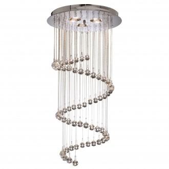 SEARCHLIGHT 7743CC | Hallway Searchlight visilice svjetiljka 5x G9 krom, prozirno