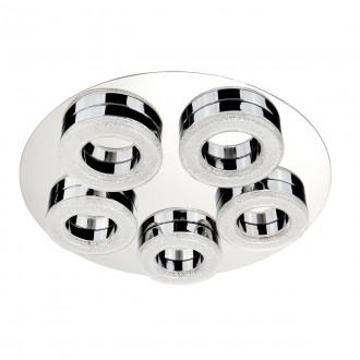 SEARCHLIGHT 8015-5CC | PoloS Searchlight stropne svjetiljke svjetiljka 1x LED 2460lm 4000K krom, bijelo, učinak kristala