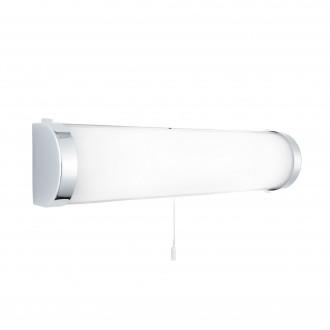 SEARCHLIGHT 8293CC | Poplar Searchlight zidna svjetiljka s poteznim prekidačem 2x E14 IP44 krom, acidni