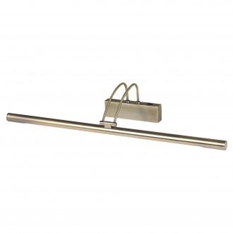 SEARCHLIGHT 8343AB | Picture-Lights Searchlight ovetljenje ogledala svjetiljka s prekidačem pomjerljivo 1x G5 / T5 3000K antik bakar