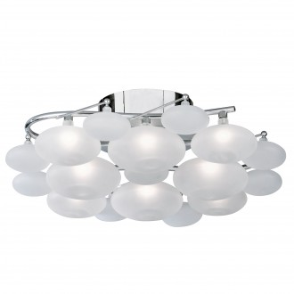 SEARCHLIGHT 8408-8CC | Dulcie Searchlight stropne svjetiljke svjetiljka 8x G4 krom, acidni