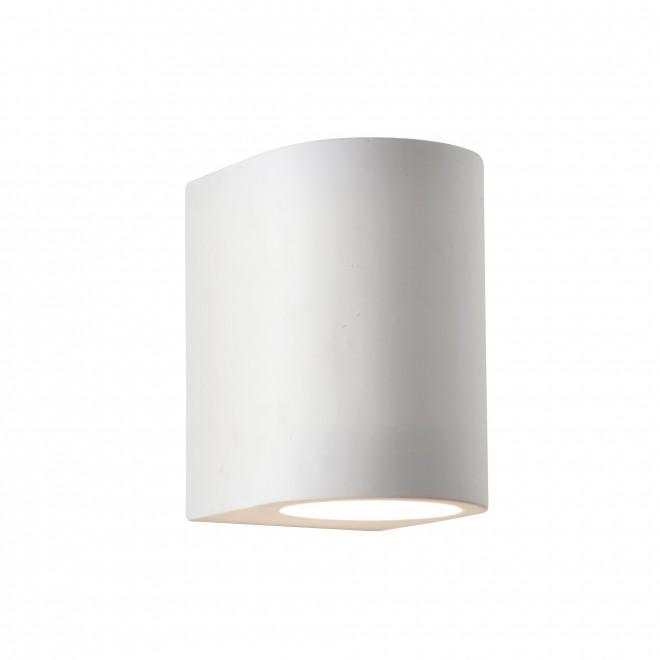 SEARCHLIGHT 8436 | GypsumS Searchlight zidna svjetiljka sa površinom za bojanje 1x G9 bijelo