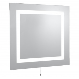 SEARCHLIGHT 8510 | MirrorS Searchlight zidna svjetiljka s poteznim prekidačem 4x G5 / T5 1050lm 4000K IP44 zrcalo