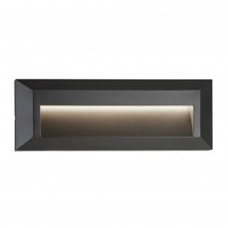 SEARCHLIGHT 8732GY | Ankle Searchlight ugradbena svjetiljka 1x LED 53lm 4000K IP65 tamno siva, bijelo