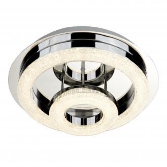 SEARCHLIGHT 9109-28CC | PoloS Searchlight stropne svjetiljke svjetiljka 1x LED 1500lm 4000K krom, bijelo, učinak kristala