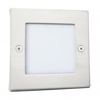 SEARCHLIGHT 9907WH | Ankle Searchlight ugradbena svjetiljka 1x LED 14lm 6500K IP54 bijelo, opal