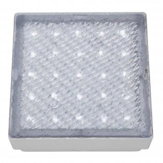 SEARCHLIGHT 9913WH | Walkover Searchlight ugradbena svjetiljka 150x150mm 1x LED 60lm 7000K IP68 prozirno