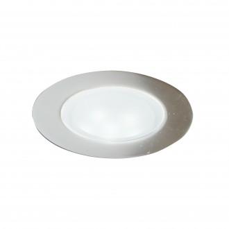 SEARCHLIGHT EU1160-10SS | Walkover-Kit Searchlight ugradbena svjetiljka set od 10 komada Ø60mm 10x LED 900lm 3000K IP67 saten srebro, prozirno
