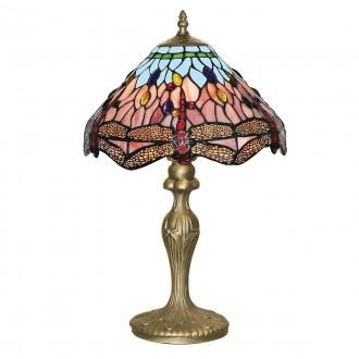 SEARCHLIGHT EU1287 | Dragonfly Searchlight stolna svjetiljka 46cm s prekidačem 1x E27 antik bakar, u bojama