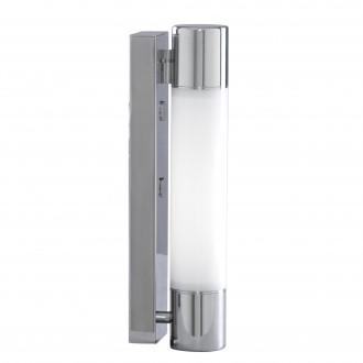 SEARCHLIGHT LE2208CC | Poplar Searchlight zidna svjetiljka 1x 2G11 / PL-L/4P 6500K IP44 krom, bijelo, opal