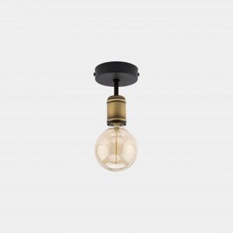 TK LIGHTING 1901 | Retro-TK Tk Lighting stropne svjetiljke svjetiljka 1x E27 crno, antik brončano