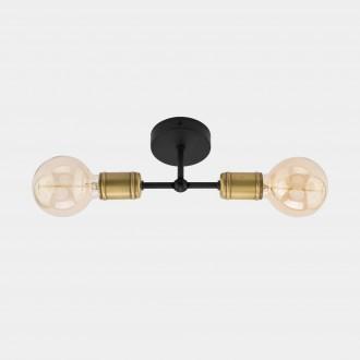 TK LIGHTING 1902 | Retro-TK Tk Lighting stropne svjetiljke svjetiljka 2x E27 crno, antik brončano
