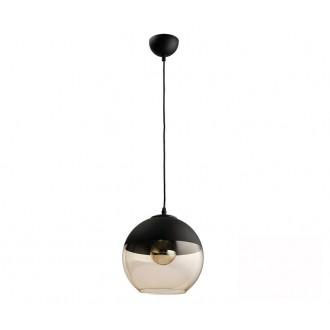 TK LIGHTING 2380 | Amber-TK Tk Lighting visilice svjetiljka s mogućnošću skraćivanja kabla 1x E27 crno, dim