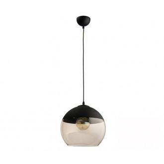 TK LIGHTING 2381 | Amber-TK Tk Lighting visilice svjetiljka s mogućnošću skraćivanja kabla 1x E27 crno, dim