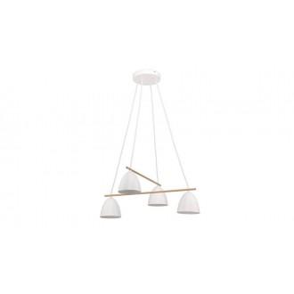 TK LIGHTING 2388 | Aida-TK Tk Lighting visilice svjetiljka 4x E27 bijelo