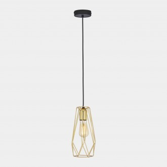 TK LIGHTING 696 | Diamond-Black-TK Tk Lighting visilice svjetiljka 1x E27 crno