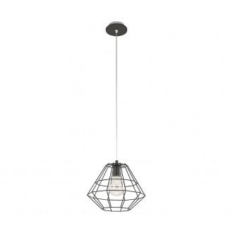 TK LIGHTING 845 | Diamond-Black-TK Tk Lighting visilice svjetiljka 1x E27 crno